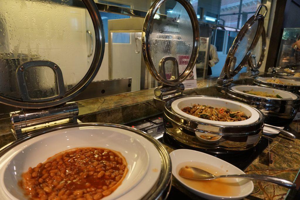 朝食ビュッフェのラインナップ