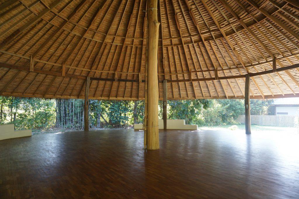 ヨガや瞑想ができる多目的スペース