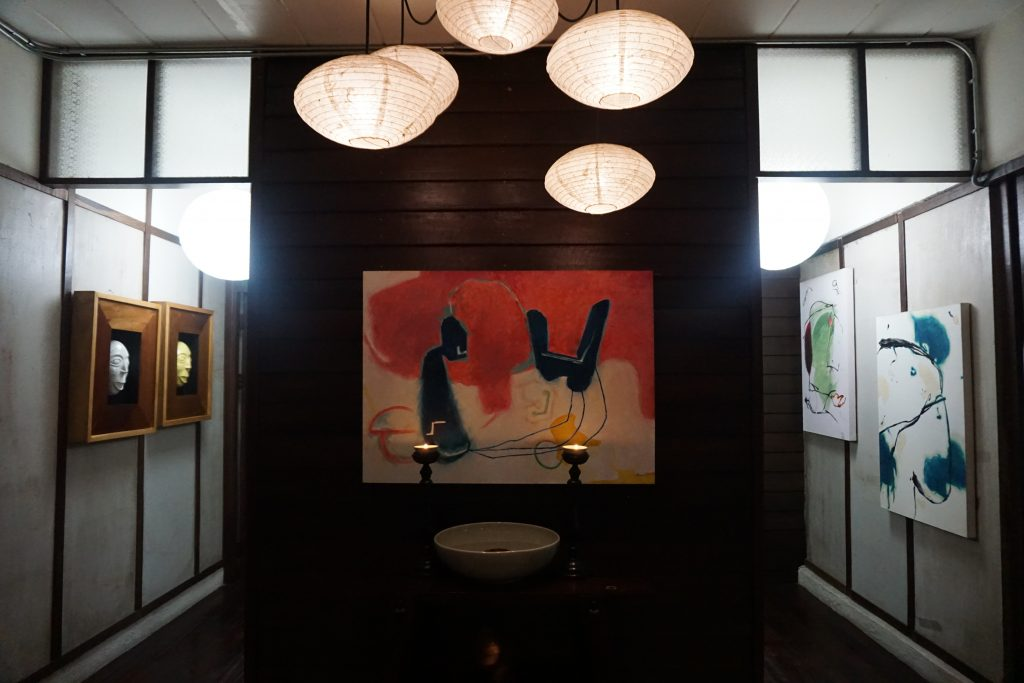 カンペーンガムホテルの1階フロア